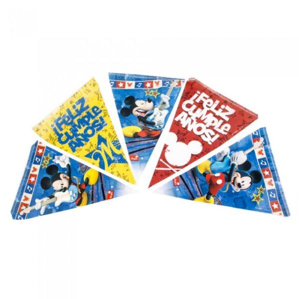 Banderines de Mickey Mouse Rocks