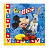 Servilletas de Mickey Mouse Rocks