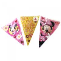 Banderines de Minnie Mouse Flor