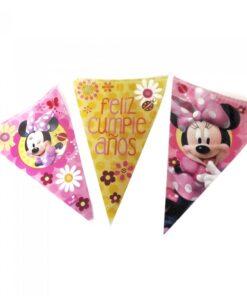 Banderines de Minnie Mouse Flor
