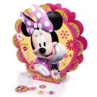 Piñata 3D de Minnie Mouse Flor