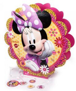 Piñata 3D de Minnie Mouse Flor
