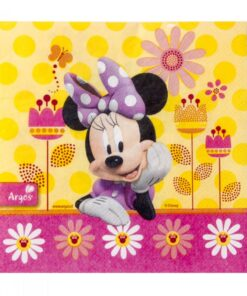 Servilletas de Minnie Mouse Flor