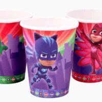 vasos PJ Mask Héroes en Pijamas