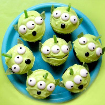 Los mejores cupcakes de Disney