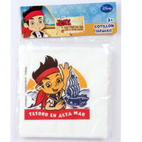 Servilletas de Jake y Los Piratas