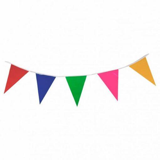 Banderines de variados colores