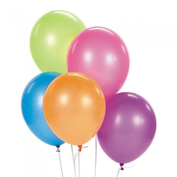 globos flúor colores