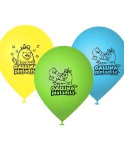 Globos de Gallina Pintadita
