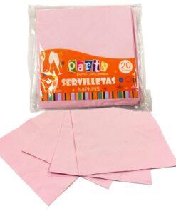 Servilletas Rosadas