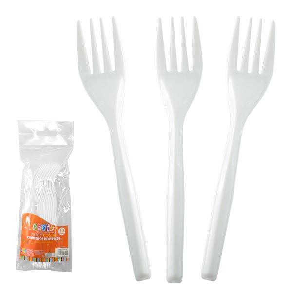 Tenedores Blancos