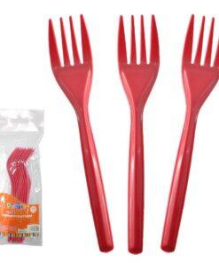 Tenedores Rojos