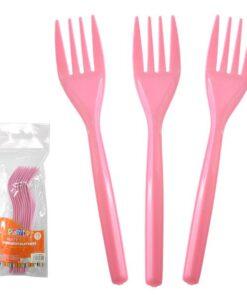 Tenedores Rosados