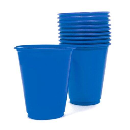 Vasos plásticos Azules
