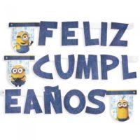 Guirnalda Feliz Cumpleaños de Minions