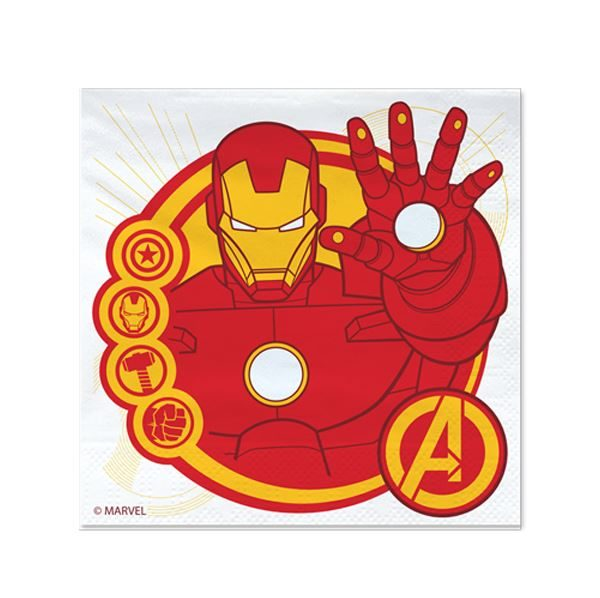 Servilletas de Avengers