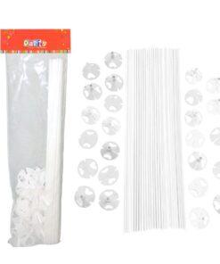 Varillas Blancas para globos