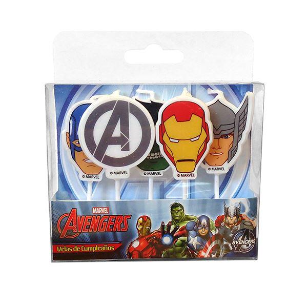 Vela de cumpleaños de Avengers