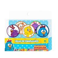 Vela de cumpleaños de Gallina Pintadita