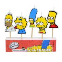 Velas de cumpleaños de Los Simpsons