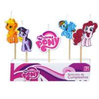 Vela cumpleaños de My Little Pony