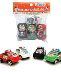 Set de autos de policía