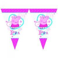 Banderines de Peppa Pig
