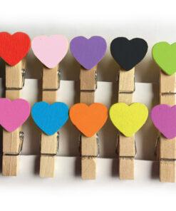 Perritos decorativos corazón