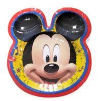 Platos de Mickey Mouse Rocks