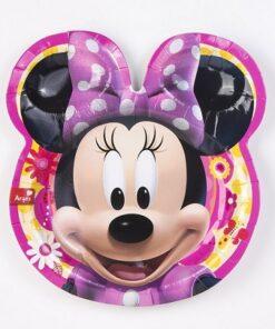 Platos de Minnie Mouse Flor