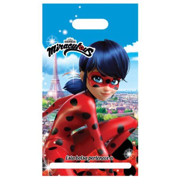 Bolsas para dulces de Ladybug