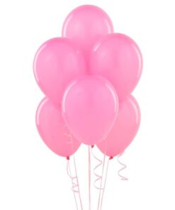 globos lisos Rosados