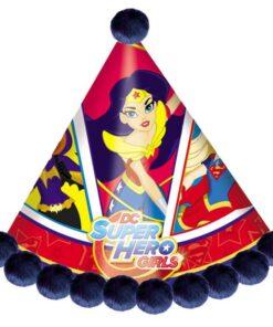 Gorro Festejada de DC Super Hero Girls