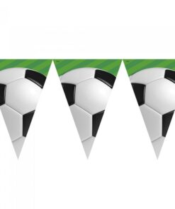 Guirnalda con 10 banderines Fútbol