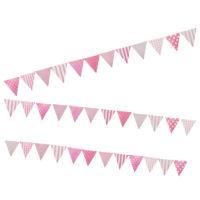 Banderines Fucsia rosado