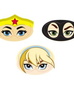Máscaras de DC Super Hero Girls