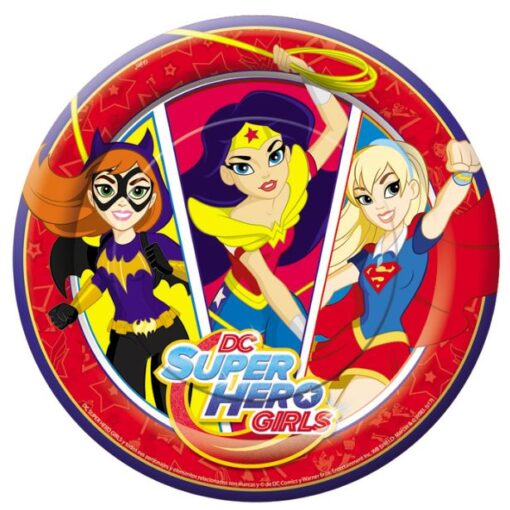 Platos de DC Super Hero Girls