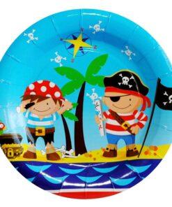 Platos de Piratas y Amigos