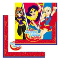 Servilletas de DC Super Hero Girls