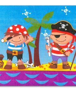 Servilletas de Piratas y Amigos