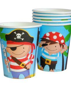 Vasos de Piratas y Amigos