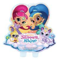 Vela de cumpleaños de Shimmer & Shine