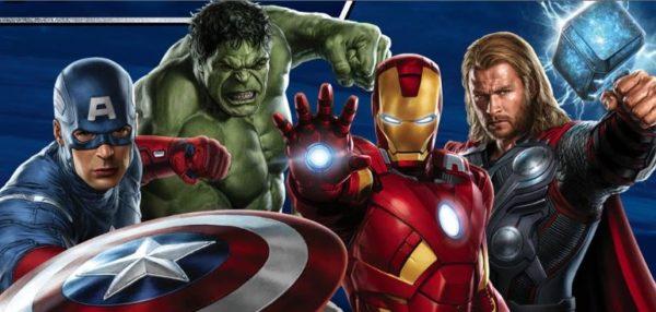 Pack de cotillón de cumpleaños de Avengers