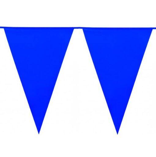 Guirnalda con Banderines Azules