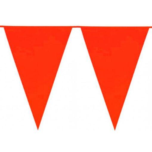 Guirnalda con banderines Rojos