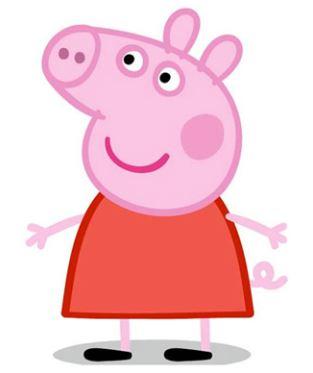 Pack de cotillón de cumpleaños de Peppa Pig