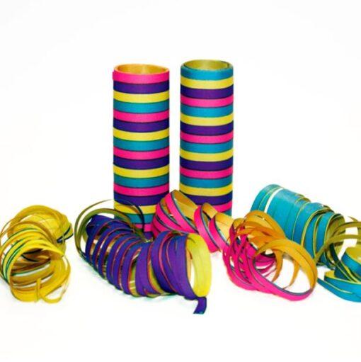Serpentinas de colores