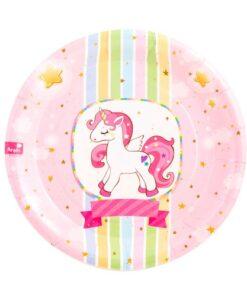platos Unicornio