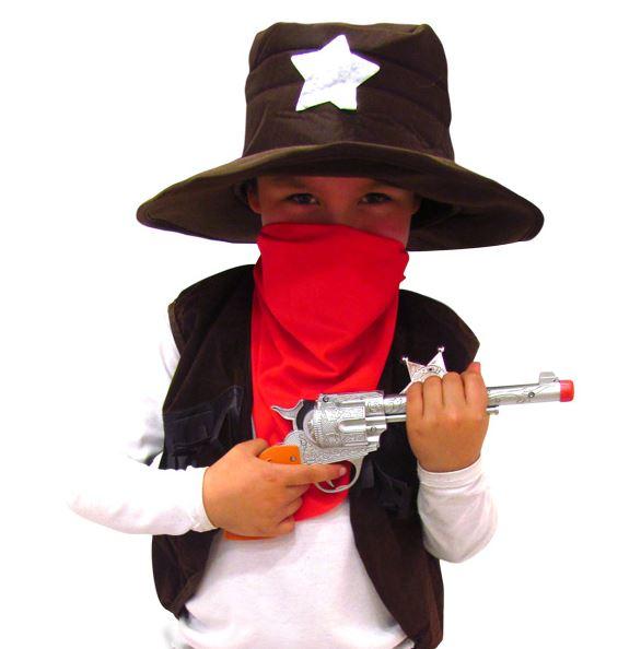 Disfraz de sheriff talla 4-6