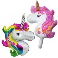 Globo con forma de unicornio